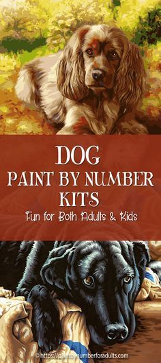 paint by number kits of dogs Paint By Number Kits Dog Paintings Dog Lovers
