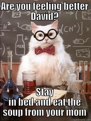 Get Well Soon David