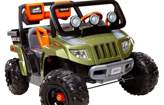 still high in most of the country families are primed for fall fun and topping most toddlers wish lists is the Fisher Price Power Wheels Arctic Cat in