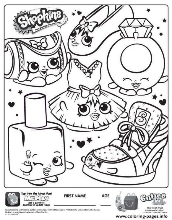 Cute Coloring Pages Printable Fresh Shopkins Coloring Book Inspirational Coloring Printables 0d – Fun