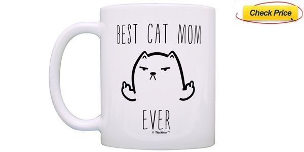 cat owner coffee mug