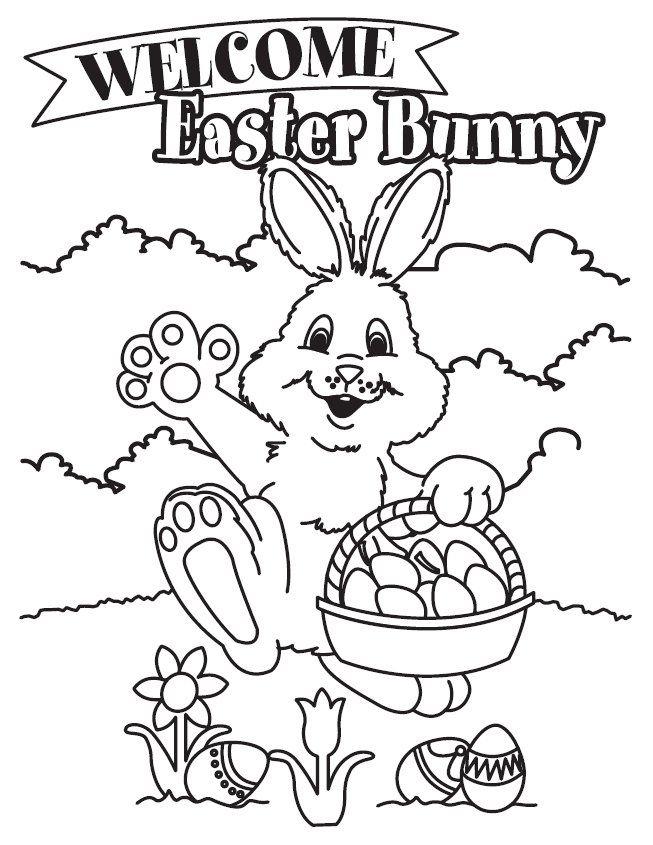 free printable easter drawings 14
