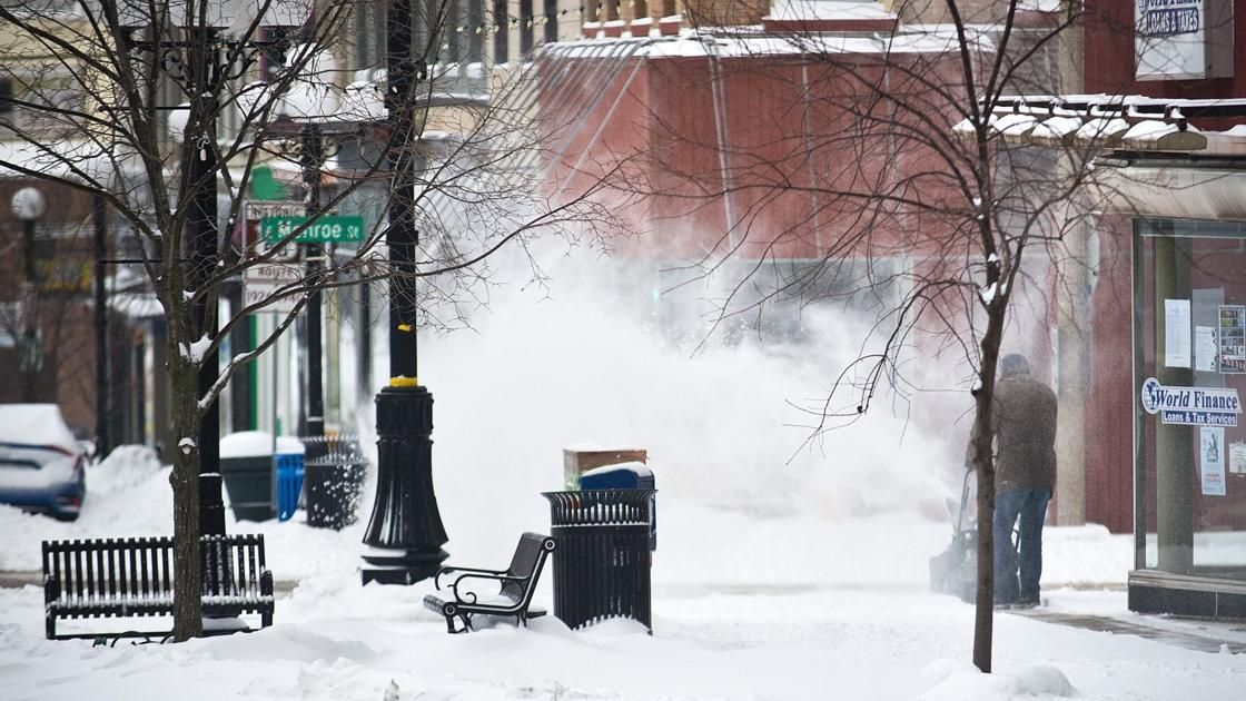 New forecast 2 to 4 inches of snow predicted Thursday for Bloomington Normal Local News