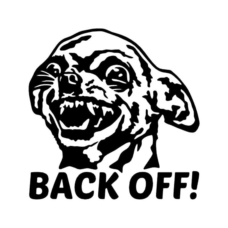 Chihuahua Back f Vinyl Decal Car Sticker Car Window Bumper Get Funny Dog My Ass