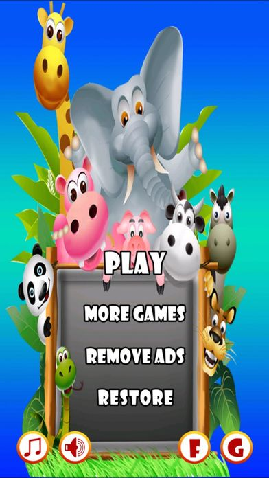 Animal Emoji Pop Saga Destroy Funny Animal Emo Screenshot on iOS