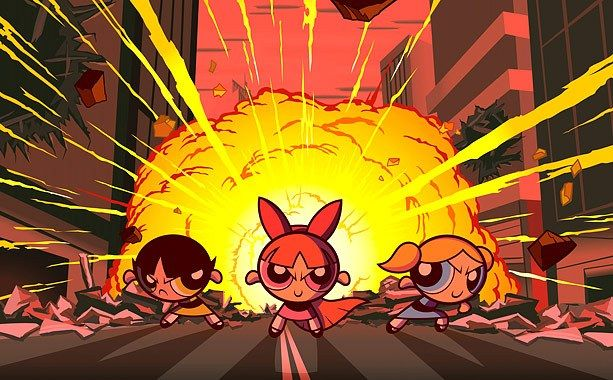1 The Powerpuff Girls