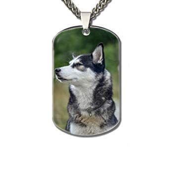 XIOZURV Cool Husky Personalized Pet Tag Dog Cat ID – New Puppy Kitten Identification Lost