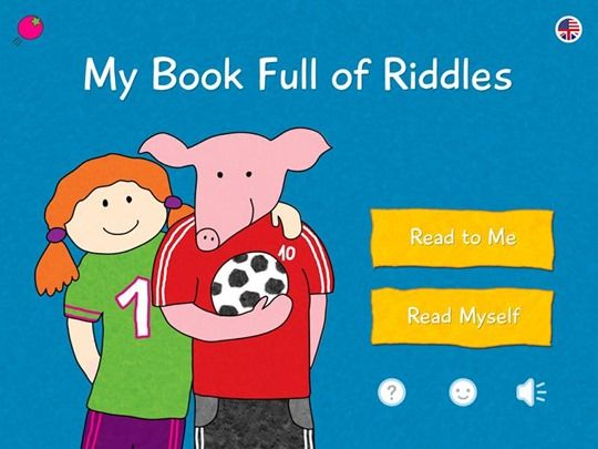 best kids apps My book full od Riddles Conundrums app