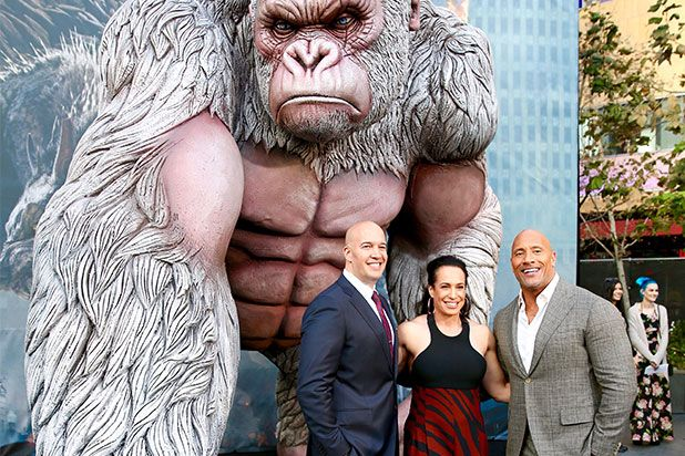 Rampage Star Dwayne Johnson and Dany Garcia Their Trailblazing Plan for Hollywood Dominance Exclusive