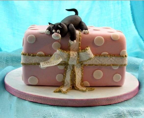 Cat Birthday Cakes