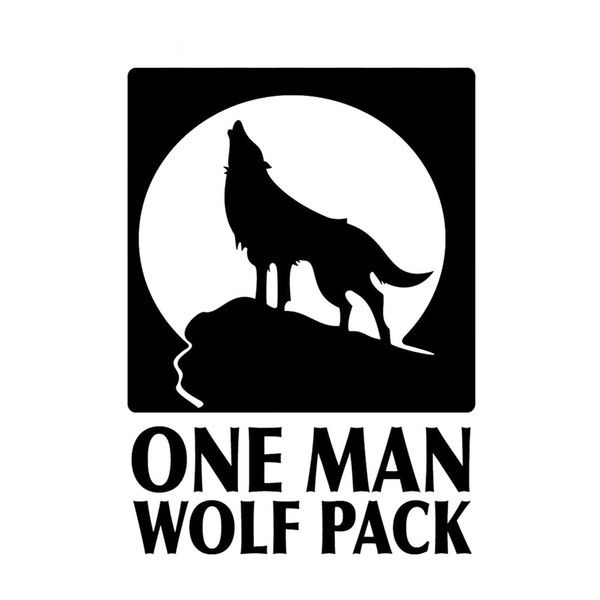 A Man Wolf Pack Vinyl Decal Die cut Hangover Zak Fun And Interesting Packaging Personality Accessories Decals