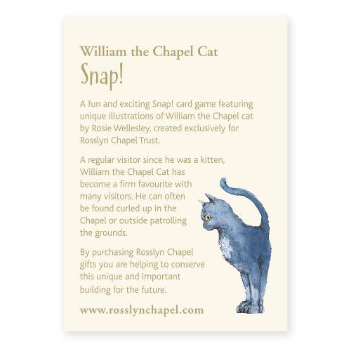 William The Chapel Cat Snap Cards