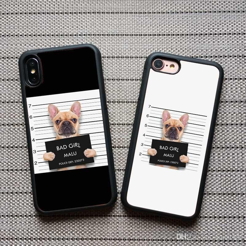 Fashion Cute Dog Pattern Funny Action Diy Cell Phone Case For Iphone 6 7 8 Plus Xr X Xs Max Case Cover Customed Phone Case Luxury Best Cell Phone Case Cell
