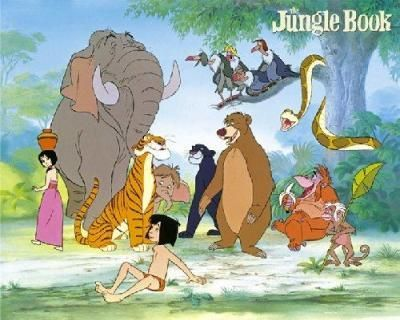 Watching the jungle book right now So many childhood memories