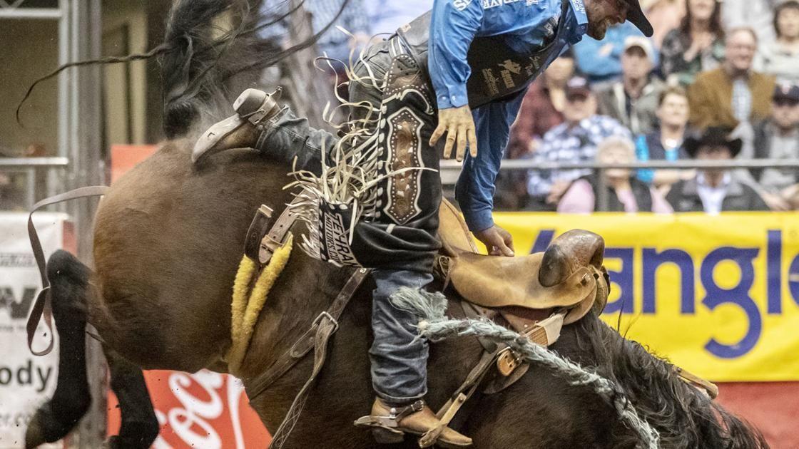 Top cowboys battle again on bucking horses Sports