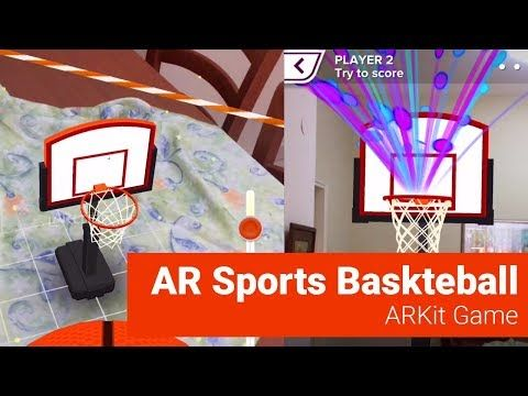 This basketball AR game works on iOS 11 0 or later devices patible with ARKit i e iPhones iPads and iPod touch Point your phone find the area to