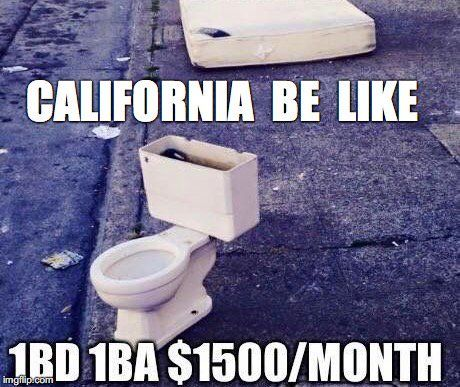 Image result for funny california memes for expensive houses