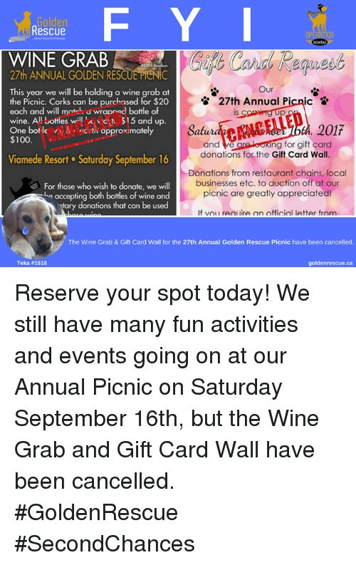 Anaconda Memes and Wine F Y I Rescue Abou Second Chances WINE GRAB 27th ANNUAL