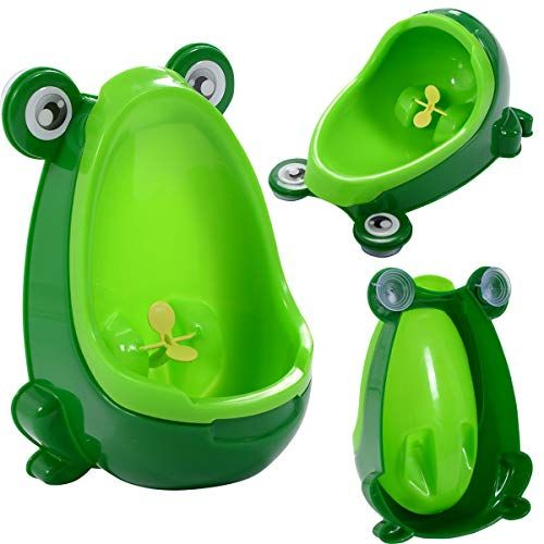 Cute Frog Potty Training Urinal For Boys Kids With Funny Aiming Tar Blue