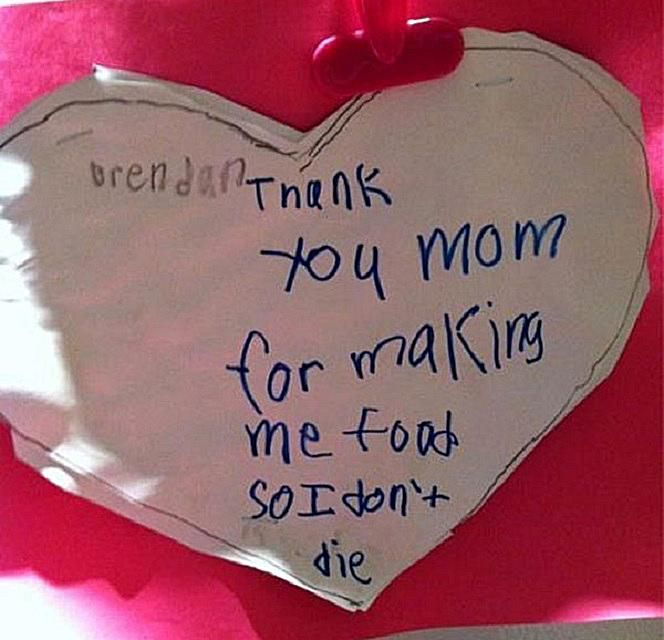 18 The Funniest Valentines Made By Kids It s The Little Things