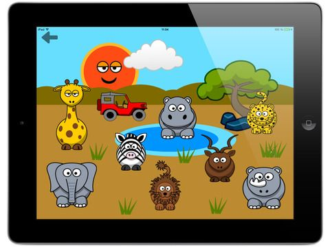 Screenshots for Funny Animals for toddlers Discover farm animals and the wildlife of savanna