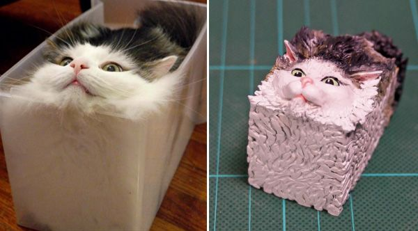 ot17w cat memes into 3d figurines lg