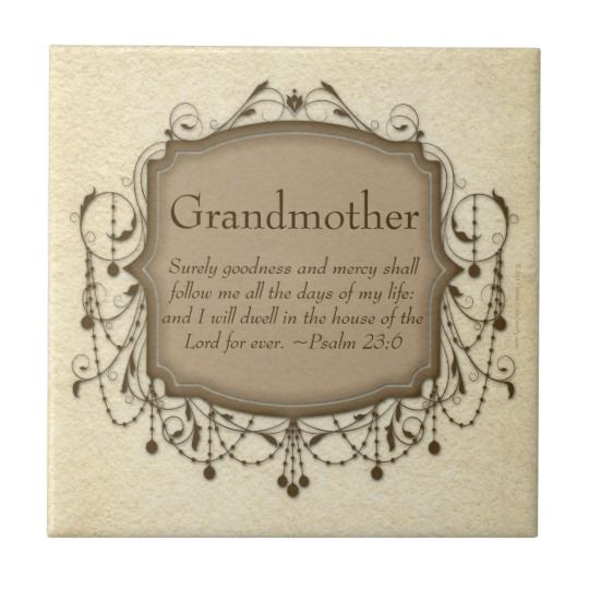 grandmother bible verse psalm 23 coaster plaque r f57ee004f0ca e0db59c7d1 agtk1 8byvr 540