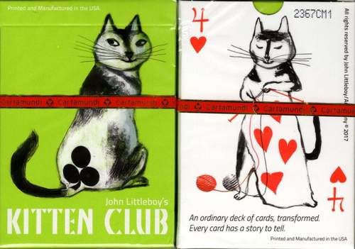 Kitten Club Cat Playing Cards Cartamundi