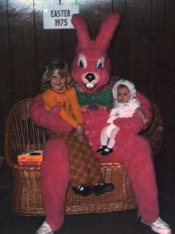 The best pictures of creepy Easter Bunnies scaring the chocolate out of innocent children