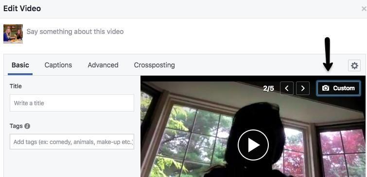 custom video thumbnail