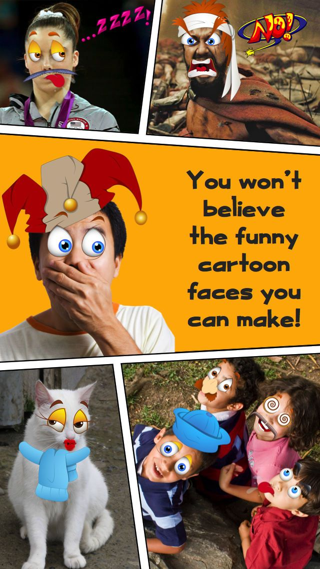 Screenshot 6 for Funny Cartoon Face Booth ic Book graphy from Crazy Toon