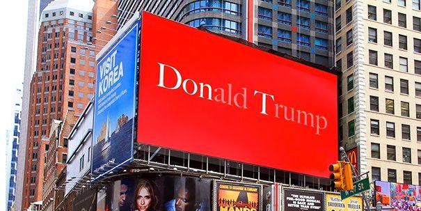 Subtle Anti Trump Poster