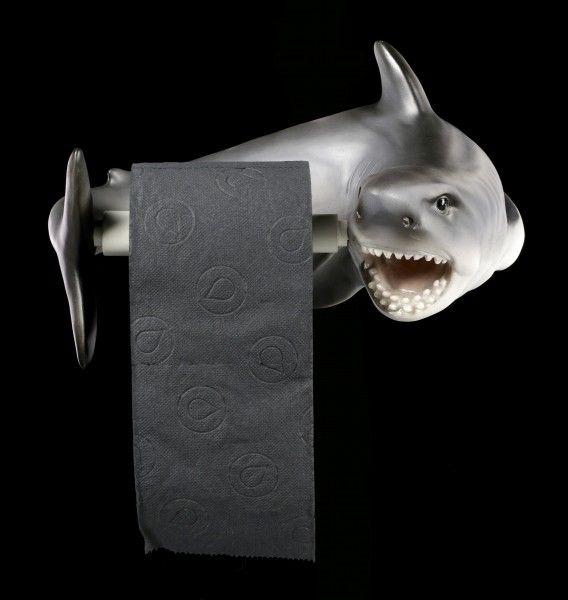 Toilet Paper Holder Shark