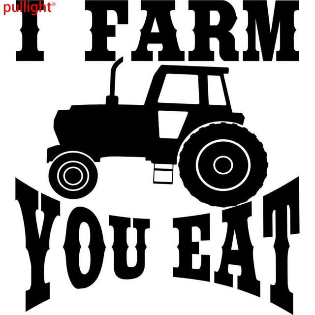 15 2CM 16 8CM Farm Tractor Farming Agriculture Funny Car Styling Accessories Car Stickers And Decals
