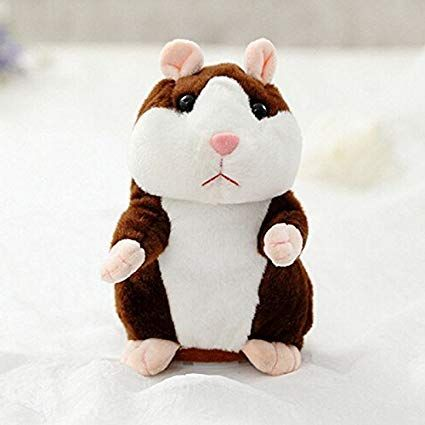 OD 16cm Funny Talking Hamster Mouse Pet Speak Sound Record Plush Toy Kid Gift Dark Brown Amazon Home & Kitchen