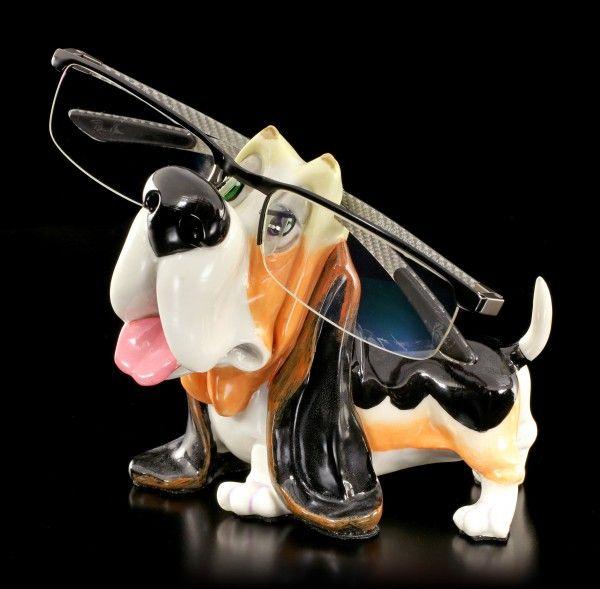 Dog Glasses Holder Basset Hound Opti Paws