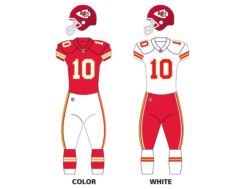 Kc chiefs uniforms