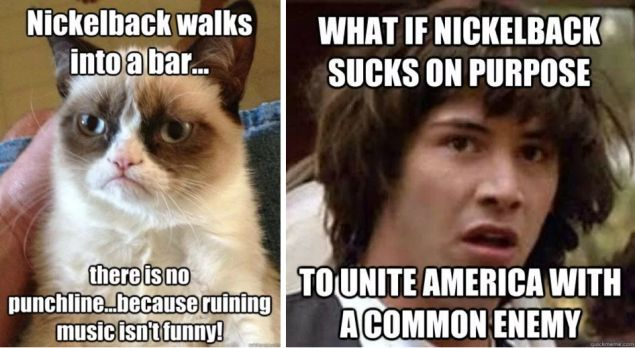 The Nickelback meme brutality sampler