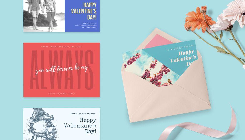 Custom Valentine s Day cards made easy
