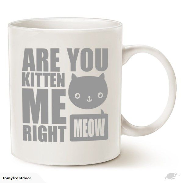kitten me mug MAUAG Funny Cat Coffee Mugs