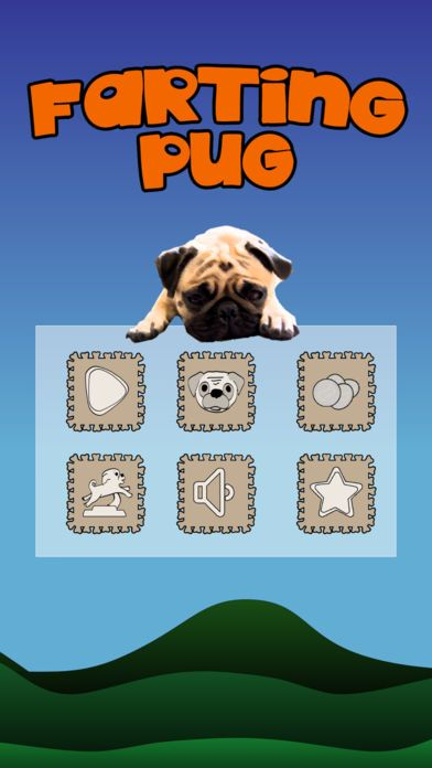 Pug Carlino Mop Pug Dog You know these puppies do fart a lot They re so cute and lovely but they love to fart This game is inspired in Flappy Bird