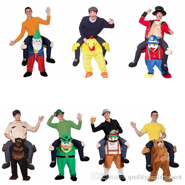New Ride Bear Oktoberfest Costume Animal Funny Dress Up Halloween Fancy Pants Novelty Mascot Custome In Stock Kids Pirate Costumes Religious Costumes