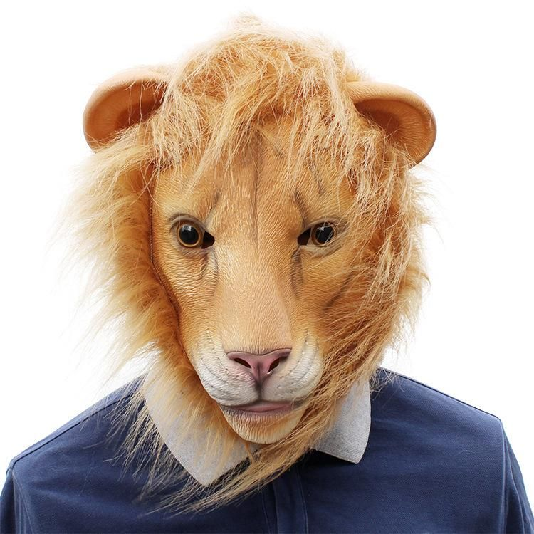 Halloween Cosplay Bar Party Funny Animal Lion Latex Mask Venetian Halloween Masks Venetian Mask From Carrie0713 $12 27 DHgate