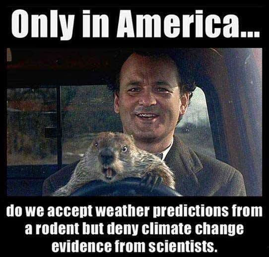Groundhog Day and Climate Change