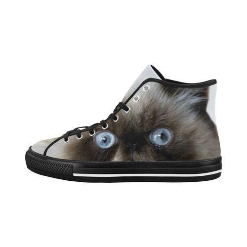 Funny Cat Vancouver H Women s Canvas Shoes