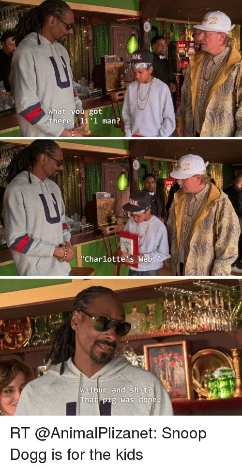 Dope Funny and Snoop SMAG hat you got there li l