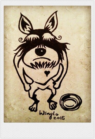 Angry dog Drawings Creatures Big Funny Dogs Art Drawings Drawing Pics