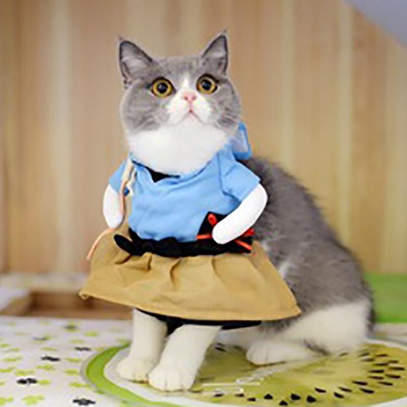 Funny Dog Cat Costumes Urashima Taro Cosplay Suit Pet Apparel Halloween Christmas Clothes For Puppy Dogs fc6917d2 0912 4ec2 83ad 79b33d3529e9 1200x1200
