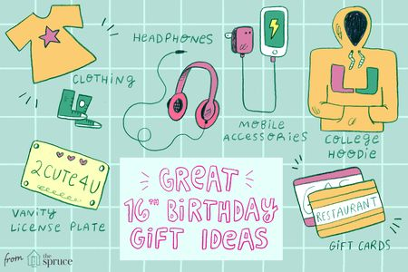 16th birthday t ideas