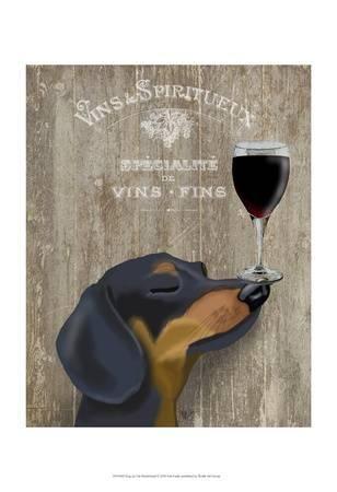 fab funky dog au vin dachshund u L F8IBCW0